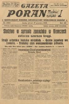 Gazeta Poranna : ilustrowany dziennik informacyjny wschodnich kresów. 1929, nr8983
