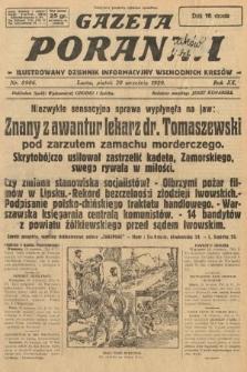 Gazeta Poranna : ilustrowany dziennik informacyjny wschodnich kresów. 1929, nr8986