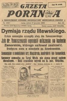 Gazeta Poranna : ilustrowany dziennik informacyjny wschodnich kresów. 1929, nr8987