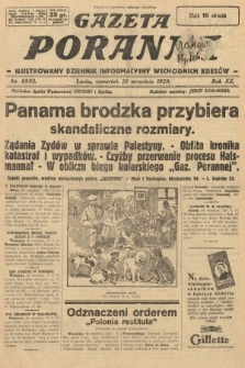 Gazeta Poranna : ilustrowany dziennik informacyjny wschodnich kresów. 1929, nr8992