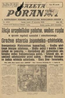 Gazeta Poranna : ilustrowany dziennik informacyjny wschodnich kresów. 1929, nr8993
