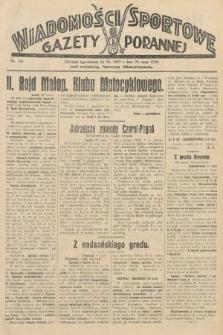 Wiadomości Sportowe Gazety Porannej. 1929, nr146