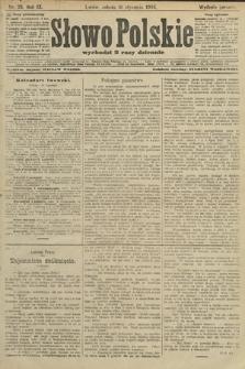 Słowo Polskie (wydanie poranne). 1904, nr25