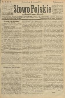 Słowo Polskie (wydanie poranne). 1904, nr31