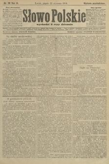 Słowo Polskie (wydanie popołudniowe). 1904, nr36