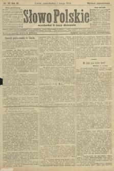 Słowo Polskie (wydanie popołudniowe). 1904, nr52