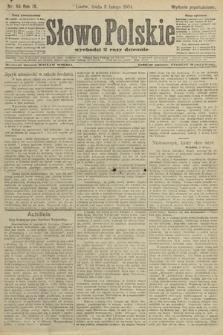 Słowo Polskie (wydanie popołudniowe). 1904, nr55