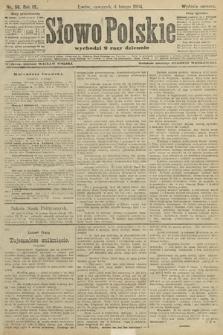 Słowo Polskie (wydanie poranne). 1904, nr56