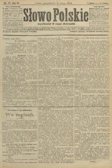 Słowo Polskie (wydanie popołudniowe). 1904, nr77