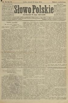 Słowo Polskie (wydanie popołudniowe). 1904, nr79