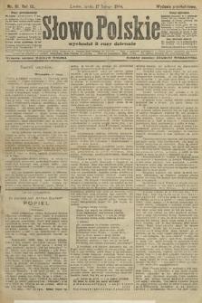 Słowo Polskie (wydanie popołudniowe). 1904, nr81