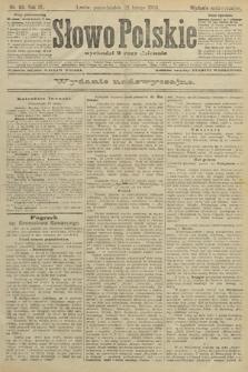 Słowo Polskie (wydanie nadzwyczajne). 1904, nr89