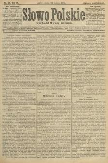 Słowo Polskie (wydanie popołudniowe). 1904, nr94