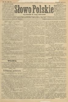 Słowo Polskie (wydanie poranne). 1904, nr117