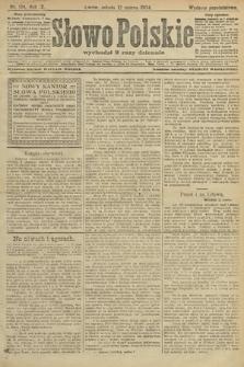 Słowo Polskie (wydanie popołudniowe). 1904, nr124