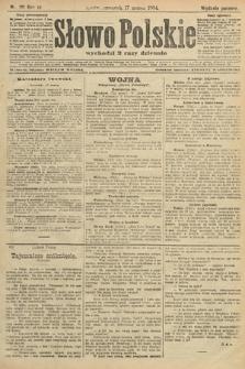 Słowo Polskie (wydanie poranne). 1904, nr131