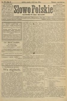 Słowo Polskie (wydanie popołudniowe). 1904, nr157