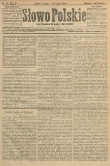 Słowo Polskie (wydanie popołudniowe). 1904, nr161