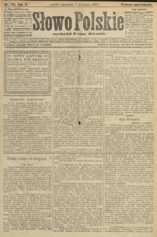Słowo Polskie (wydanie popołudniowe). 1904, nr165