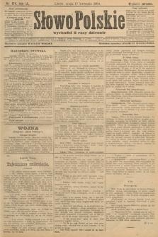 Słowo Polskie (wydanie poranne). 1904, nr174