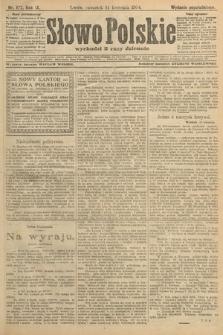 Słowo Polskie (wydanie popołudniowe). 1904, nr177