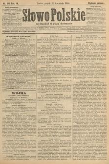 Słowo Polskie (wydanie poranne). 1904, nr190