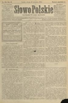 Słowo Polskie (wydanie popołudniowe). 1904, nr193
