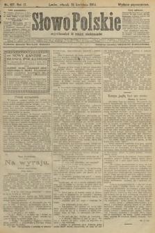 Słowo Polskie (wydanie popołudniowe). 1904, nr197