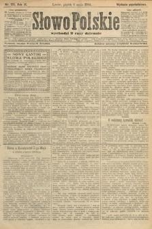 Słowo Polskie (wydanie popołudniowe). 1904, nr215
