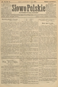 Słowo Polskie (wydanie popołudniowe). 1904, nr219