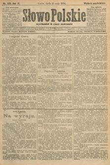 Słowo Polskie (wydanie popołudniowe). 1904, nr223