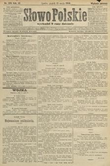 Słowo Polskie (wydanie poranne). 1904, nr225