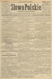 Słowo Polskie (wydanie poranne). 1904, nr244