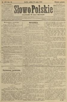 Słowo Polskie (wydanie poranne). 1904, nr250