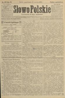 Słowo Polskie (wydanie popołudniowe). 1904, nr276