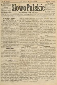 Słowo Polskie (wydanie poranne). 1904, nr281