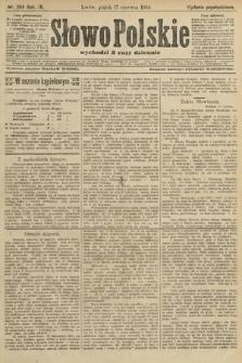 Słowo Polskie (wydanie popołudniowe). 1904, nr284