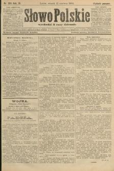 Słowo Polskie (wydanie poranne). 1904, nr289