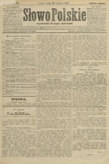 Słowo Polskie (wydanie poranne). 1904, nr291