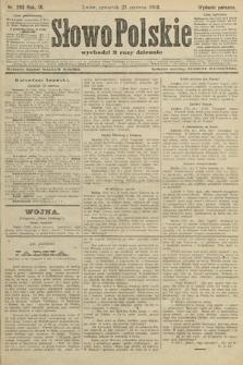Słowo Polskie (wydanie poranne). 1904, nr293