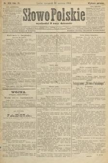 Słowo Polskie (wydanie poranne). 1904, nr304