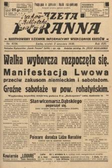 Gazeta Poranna : ilustrowany dziennik informacyjny wschodnich kresów. 1930, nr9326