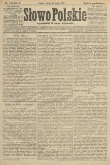 Słowo Polskie (wydanie popołudniowe). 1905, nr229