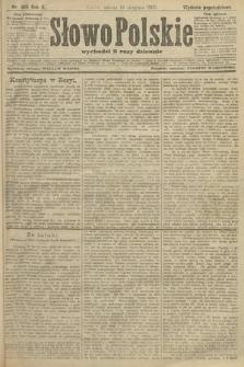 Słowo Polskie (wydanie popołudniowe). 1905, nr385