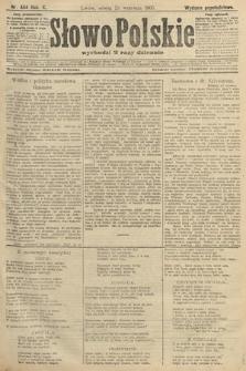 Słowo Polskie (wydanie popołudniowe). 1905, nr444