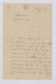 Autografy Louisa Spohra i inne materiały z nim związane