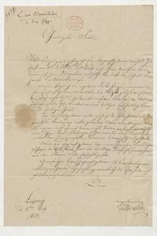 Autografy Ludwiga v. Alvensleben