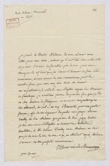 List do Rahel von Varnhagen