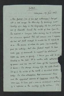 Autografy Mary Milnes-Gaskell i inne materiały z nią związane