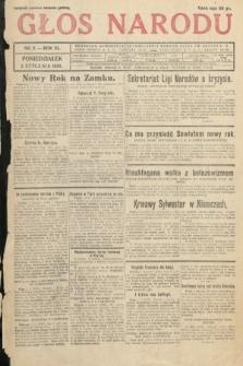 Głos Narodu. 1933, nr2